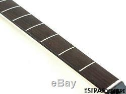 2020 Fender Aerodyne Jazz J Bass NECK+ TUNERS Guitar Modern Black Headstock