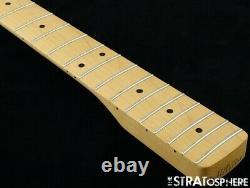 2020 Fender Player Jazz BASS NECK + TUNERS Bass Guitar Parts, Modern C Maple