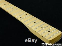 2020 Fender Player Jazz BASS NECK & TUNERS Bass Guitar Parts, Modern C Maple