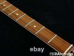 2020 Fender Player Jazz BASS NECK &TUNERS Bass Guitar Parts Modern C Pau Ferro