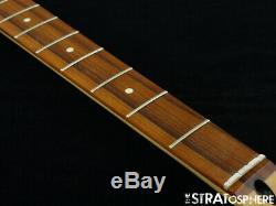 2020 Fender Player Jazz BASS NECK & TUNERS Bass Guitar Parts, Modern C Pau Ferro