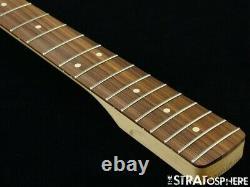 2020 Fender Player Jazz BASS NECK + TUNERS Bass Guitar Parts, Modern C Pau Ferro
