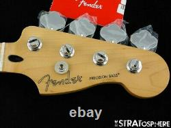 2020 Fender Player Precision P BASS NECK + TUNERS Bass Guitar Parts Maple