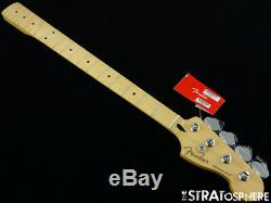 2020 Fender Player Precision P BASS NECK & TUNERS Bass Guitar Parts Maple