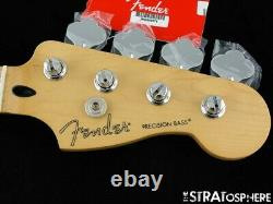 2020 Fender Player Precision P BASS NECK& TUNERS Bass Guitar Parts Maple $10 OFF