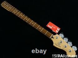 2020 Fender Player Precision P BASS NECK &TUNERS Bass Guitar Parts Pau Ferro