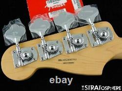 2020 Fender Player Precision P BASS NECK & TUNERS Bass Guitar Parts, Pau Ferro
