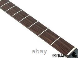 2021 Fender Aerodyne Jazz J Bass NECK + TUNERS Guitar Modern Black Headstock