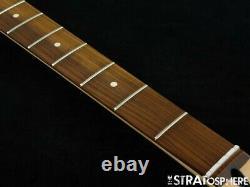 2021 Fender Player Jazz BASS NECK &TUNERS Bass Guitar Parts Modern C Pau Ferro