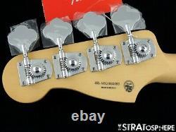 2021 Fender Player Precision P BASS NECK + TUNERS Bass Guitar Parts, Pau Ferro