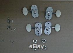 4 1960's Cavern Rugby Ball Hofner 2 + 2 BASS Guitar Tuners Keys GERMAN 500/1-CV