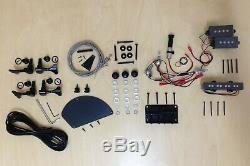 4/4 Complete No-Soldering PRS Electric Bass Guitar DIY Kit+Tuner, Picks. B-325DIY