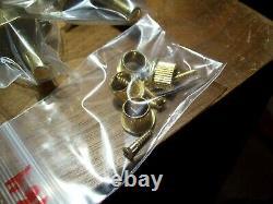 (4) Gibson Tuners 1964 Bass / Banjo Gold 2 On A Side Original Bushings Screws