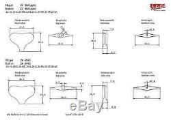 4L Mecaniques Schaller Basse BM Light Tuners Orig. F-Series 122 Nickel SC560.360