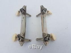 60's SILVERTONE / HARMONY / KAY BASS GUITAR TUNERS made in USA