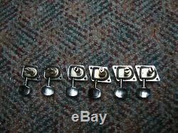 66 74 Fender F Tuner Complete Set. Strat, Tele, Jaguar, Jazzmaster, etc