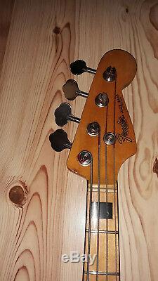 70's Japanese Fender Jazzbass Copy with HipShot Bass Extender Drop D-Tuner