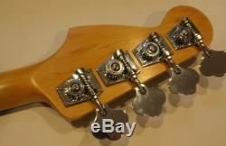ALL PARTS BASS NECK ROSEWOOD for FENDER JAZZ NEW JRO, Tuners