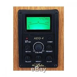 ARIA FEB-FL / F electric bass hollow New 4band equalizer tuner Free shipping EMS
