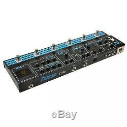 AZOR C300 Multi Effect Pedal 9V Tuner Amp Modelling Guitar Effect Pedal Guitar