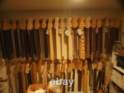 All Parts Maple Neck for vintage Fender Jazz Bass JMO Finished Tuners