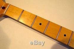 All parts Maple Neck for vintage Fender Jazz/Precision Bass JMO/oil withTuners
