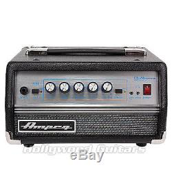 Ampeg Micro VR 200W Solid State Portable Bass Guitar Amplifier Head withTuner DEMO