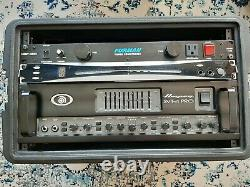 Ampeg SVT-4 Pro Bass Amp with SKB Case, Korg Tuner, and Furman Power Conditioner