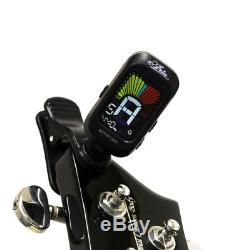 Aria Pro II clip tuner gifts! AriaProII RSB-618/4 BK (black) maple 146