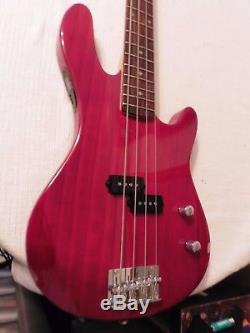 Ashton AB2 Electric Bass Guitar With Built-in TUNER + DVD