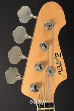 Atelier Z M # 300 Black Drop D tuner Made In JAPAN Electric BASS