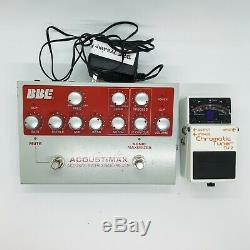 BBE Guitar Pedal Acustimax Boss Cromatic Tuner Tu-2