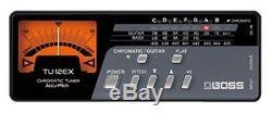 BOSS TU-12EX Chromatic Tuner for Bass / Guitar Needle type Meter