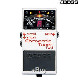 BOSS TU-3 Chromatic Tuner Pedal for Electric Bass Guitars l Authorized Dealer