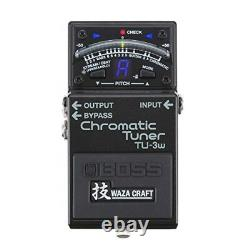 BOSS WAZA CRAFT TU-3W MADE IN JAPAN Chromatic Tuner free shipping from JAPAN
