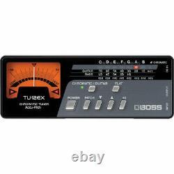 BOSS boss guitar / bass tuner TU-12EX 4957054408312 B001RVDJEA music