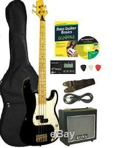 Bass Guitar Package Accessories Amp Tuner Picks Bag Strap How To Best Beginners