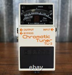 Boss TU-3 Chromatic Tuner Guitar Bass Effect Pedal