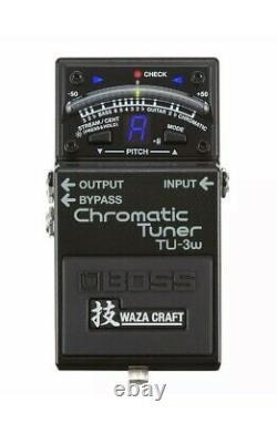 Boss TU-3W Waza Craft Chromatic Tuner + 5 YEAR WARRANTY