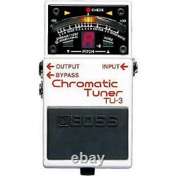 Boss TU3 Chromatic Guitar & Bass Pedal Tuner