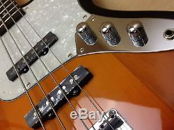 Caraya B-302PBS Full Size Electric Bass Guitar+Free gig bag, digital tuner, strap