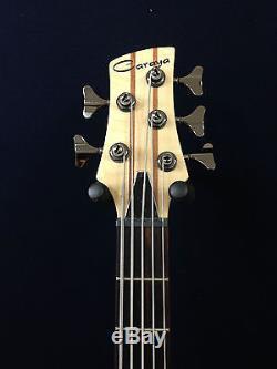 caraya spb 3250n 5 string neck thru electric bass guitar withfree gig bag d tuner. Black Bedroom Furniture Sets. Home Design Ideas