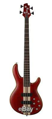 Cort Artisan A4 Plus Electric Bass Guitar Bartolini Pickups Hipshot Tuners