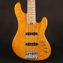 Cort Deluxe GB75JJ 5 string Electric Bass Guitar Omega bridge Hipshot tuners