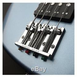 Cort GB74 GIG 4 string Bass Guitar Lake Placid Blue Hipshot Tuners RRP $1299
