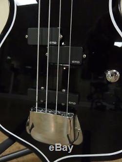 Cort Gene Simmons Punisher Bass EMG Pickups, tuner knob removed Kiss