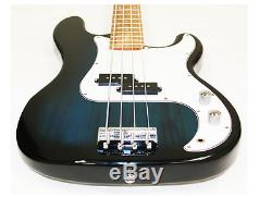 Crescent Electric Bass Guitar Starter Pack Kit, With Amplifier, tuner, and Bag
