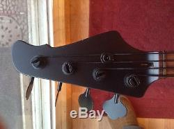 Custom Bass Guitar Neck With Hipshot Tuners Jazz Precision Fits Fender Body