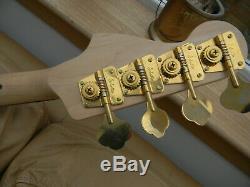Custom Precision P Bass Guitar. Fender Licenced Parts. Schaller Tuners