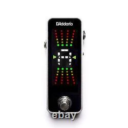 D'Addario Planet Waves Chromatic Guitar Pedal Tuner PW-CT-20